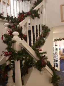 Decking the Halls at the Boathouse Guest House